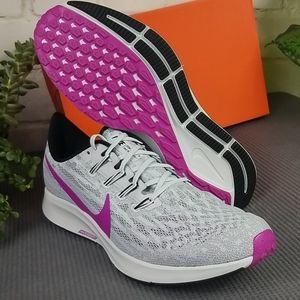 Nike Air Zoom Pegasus 36 Grey/Hyper Violet Mens 12